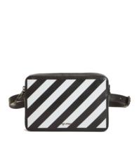 OFF-WHITE Diag waist tas zwart