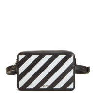 Off-White OFF-WHITE Diag waist bag black