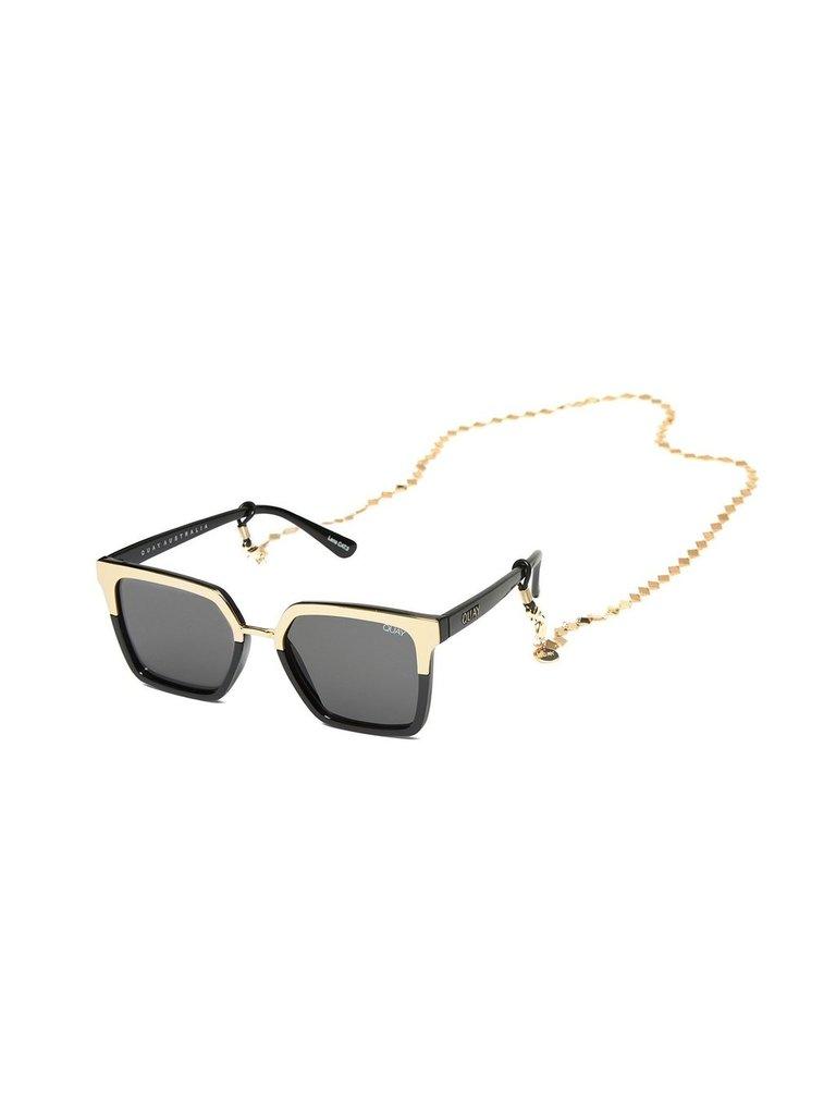 Quay Kai Sonnenbrille Halskette Gold