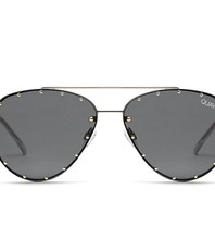 Quay Quay Roxanne sunglasses black gold