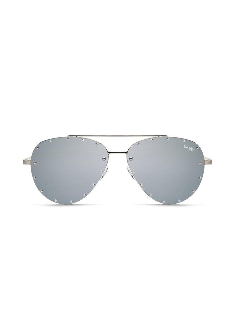 Quay Quay Roxanne sunglasses silver