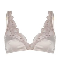 Chptr-S Chptr-S Adventurous bralette with embroidery champagne