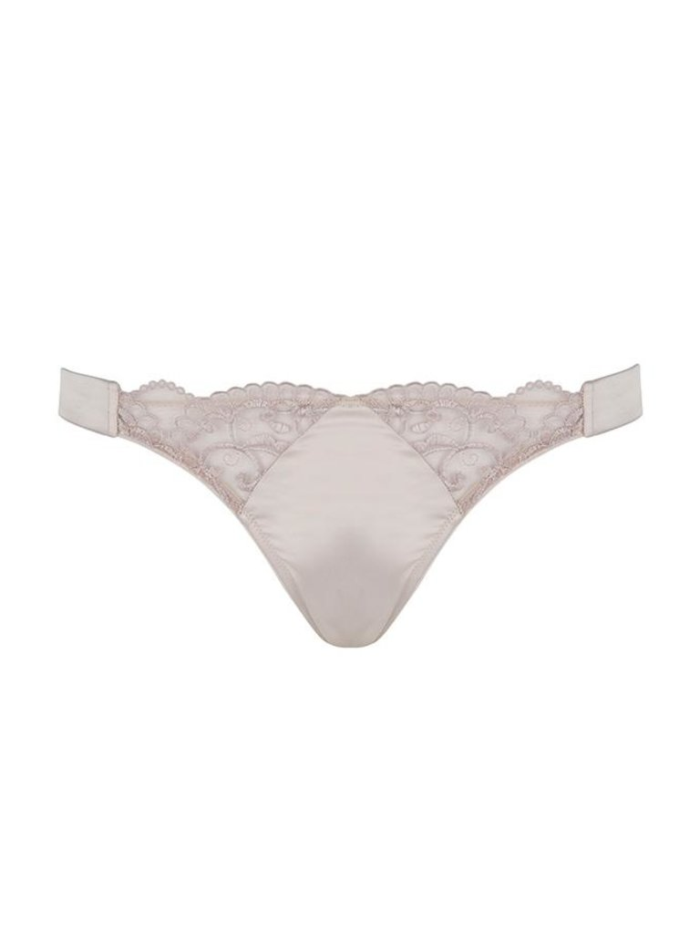 Chptr-S Chptr-S Powerful slip met borduursel champagne