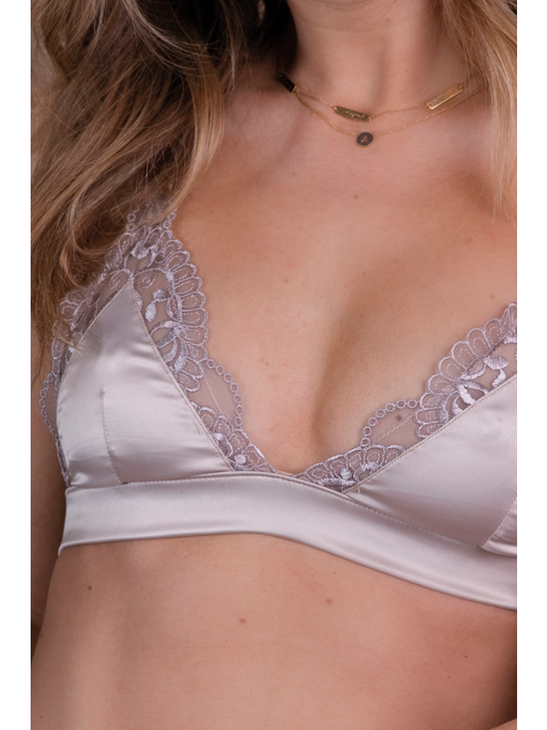 Chptr-S Chptr-S Curious bralette with lace champagne