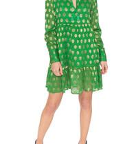 Cecilie Copenhagen Cecilie Copenhagen Dea dress with dots green