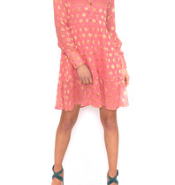 Cecilie Copenhagen Cecilie Copenhagen Dea dress with pink dots
