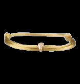 Goldbandits GoldBandits cord bracelet Baby Foot rose gold