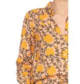 Cecilie Copenhagen Cecilie Copenhagen Betty blouse peach geel