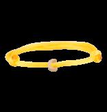 Goldbandits GoldBandits cord bracelet Moon rose gold