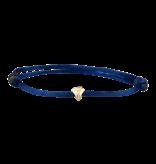 Goldbandits GoldBandits Kordel Armband Diamant Gelbgold