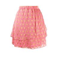 Cecilie Copenhagen Cecilie Copenhagen Christine skirt with golden pink details