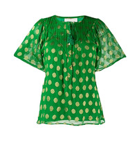 Cecilie Copenhagen Cecilie Copenhagen Linda blouse with dots of green