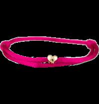 Goldbandits GoldBandits koord armband Heart geelgoud