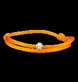 Goldbandits GoldBandits Schnur Armband Klee Gelbgold