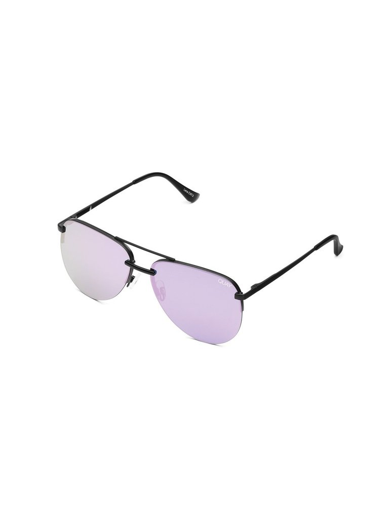 Quay Quay x JLO The Playa sunglasses black purple