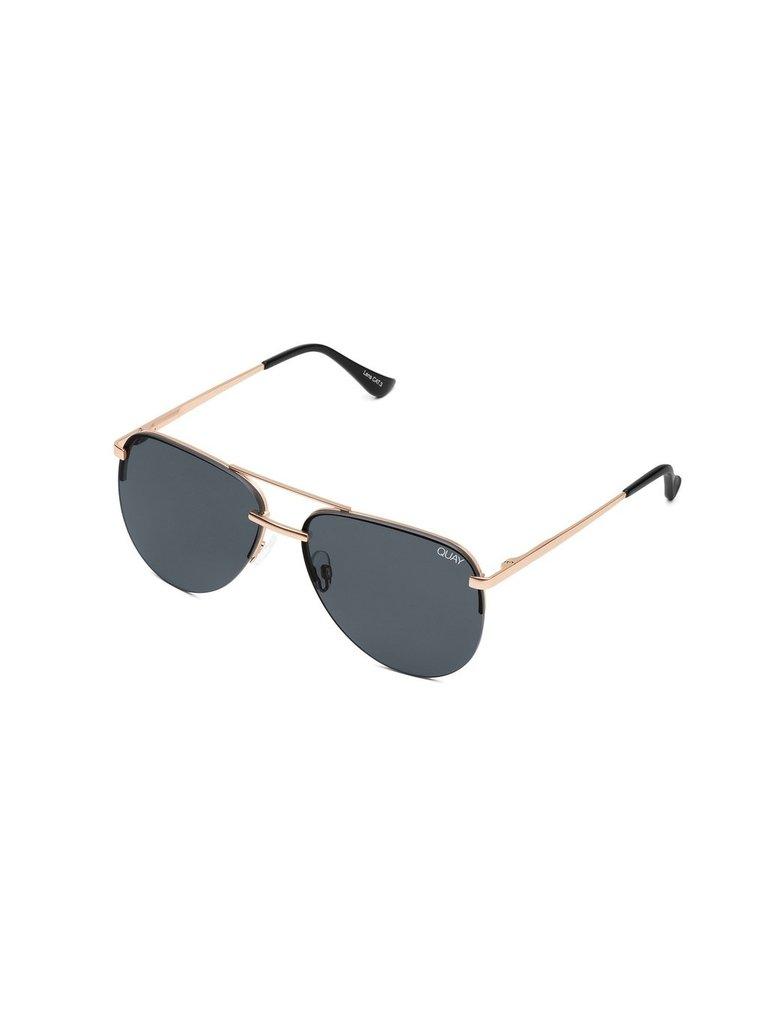 Quay Kai x JLO Die Sonnenbrille von Playa stieg rauchig