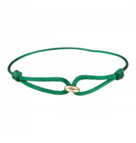 Goldbandits GoldBandits koord armband What comes around geeldgoud roségoud