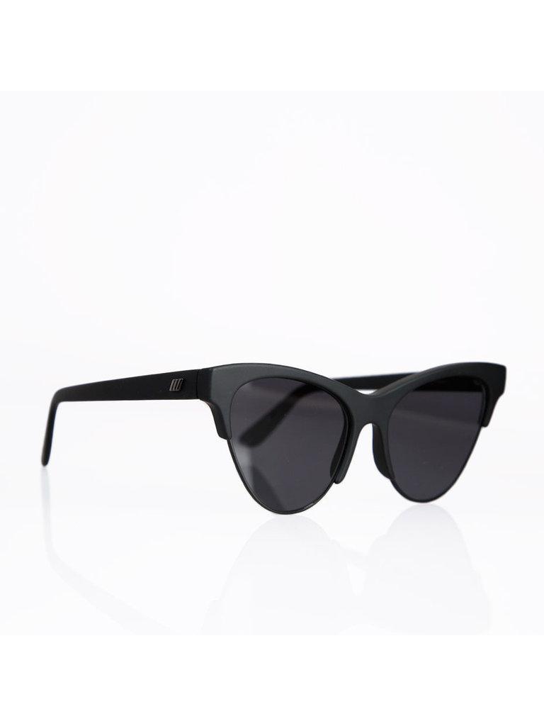 Le Specs Le Specs Kin Ink Sonnenbrille schwarz