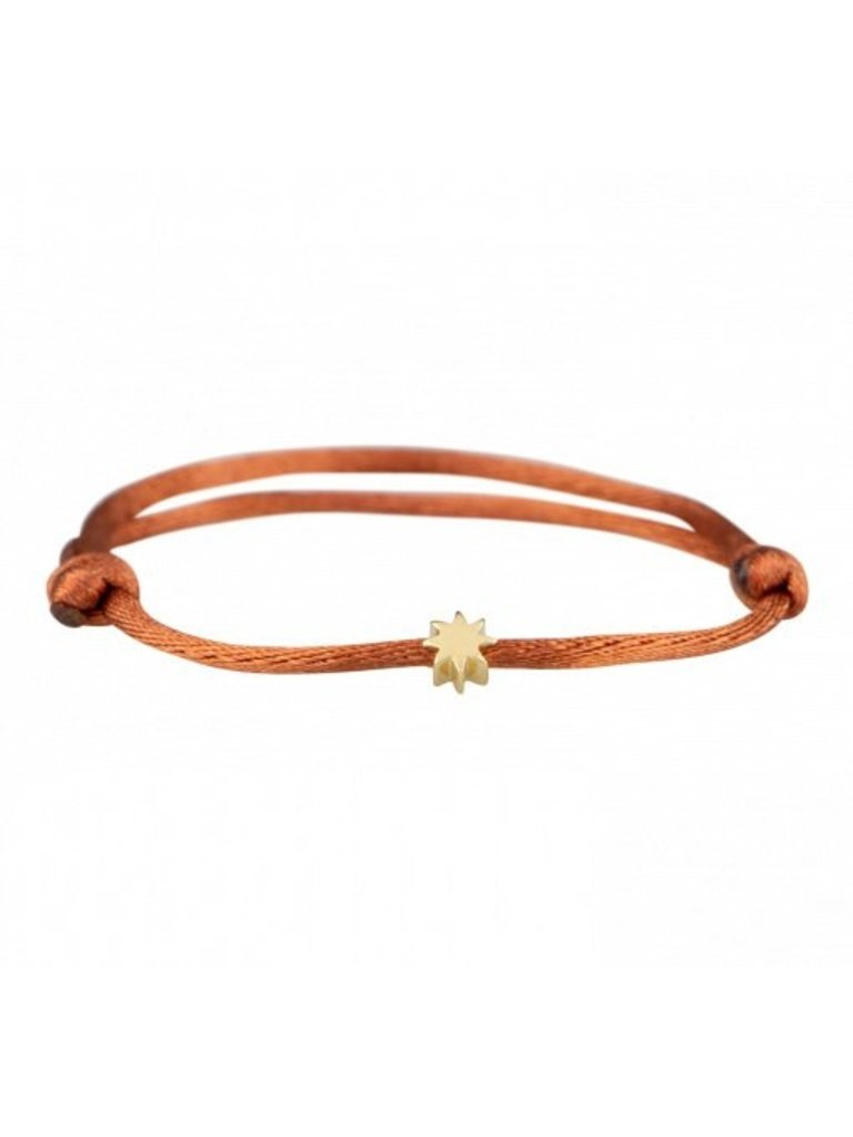 Goldbandits GoldBandits Kordel Armband Sonnengelbgold