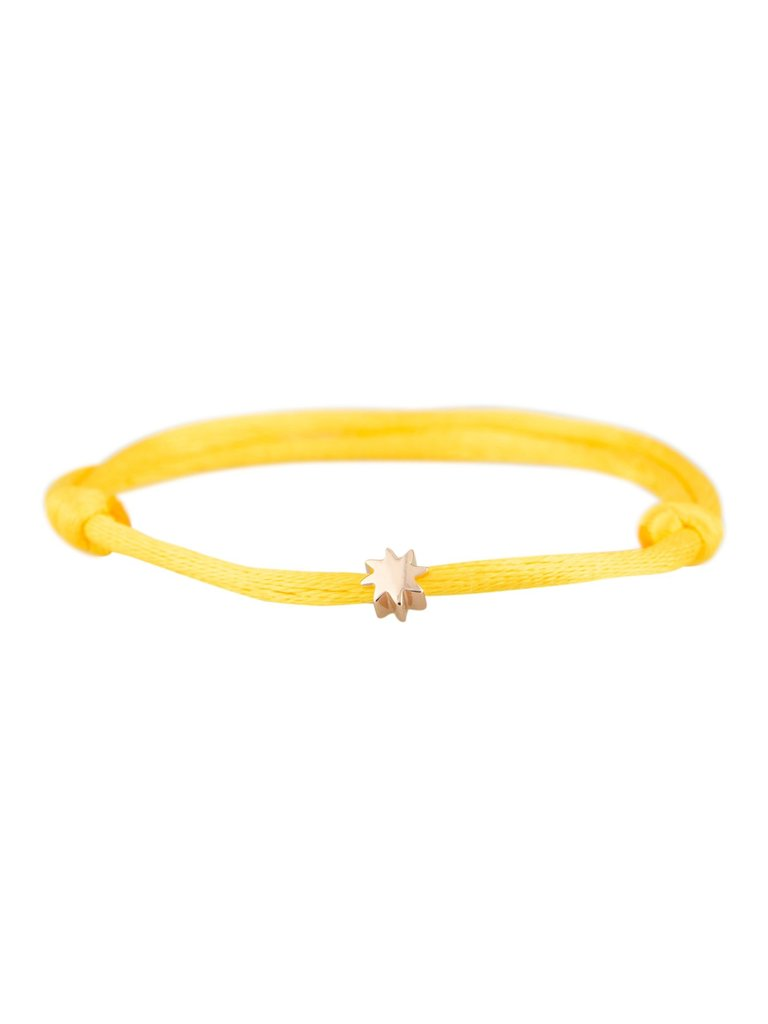 Goldbandits GoldBandits koord armband sun rosé goud