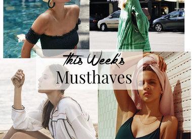 Die Musthaves dieser Woche - Juni