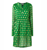Cecilie Copenhagen Cecilie Copenhagen Dea dress with dots green