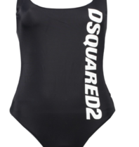 Dsquared2 swimsuit with logo black