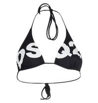 Dsquared2 Triangel-Bikinioberteil mit Logo schwarz