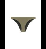 Dsquared2 Bikini-Slip mit Logo auf der Rückseite von Army Green