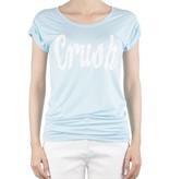 VLVT VLVT Crush tee light blue