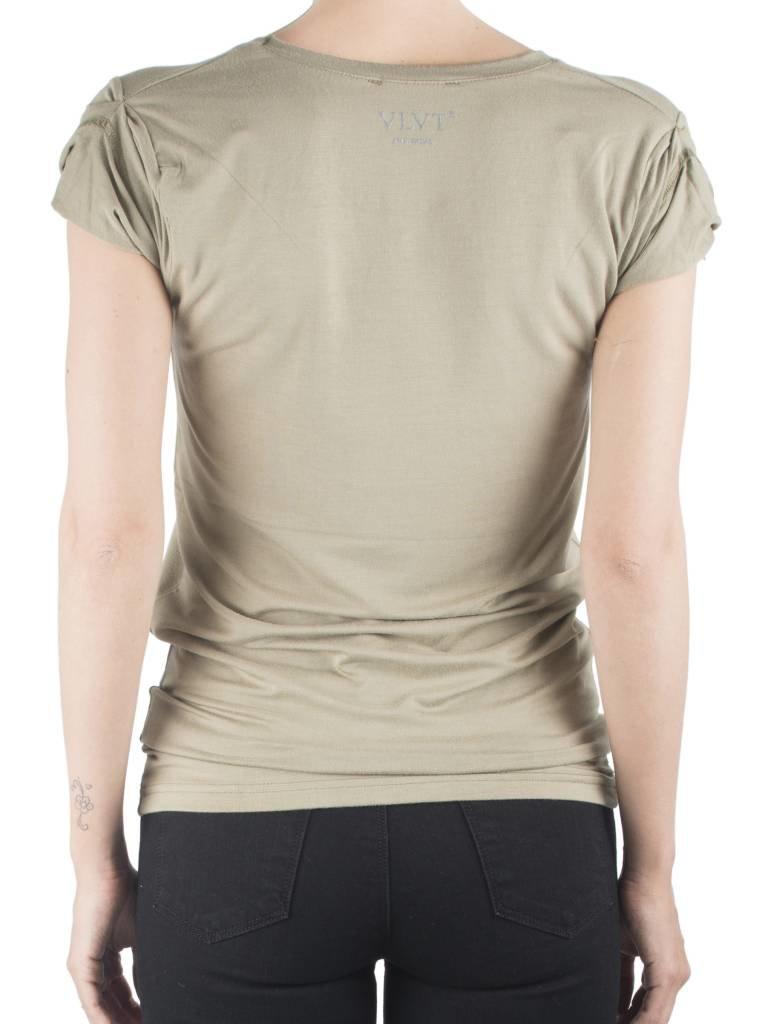 VLVT VLVT Outlaw t-shirt groen