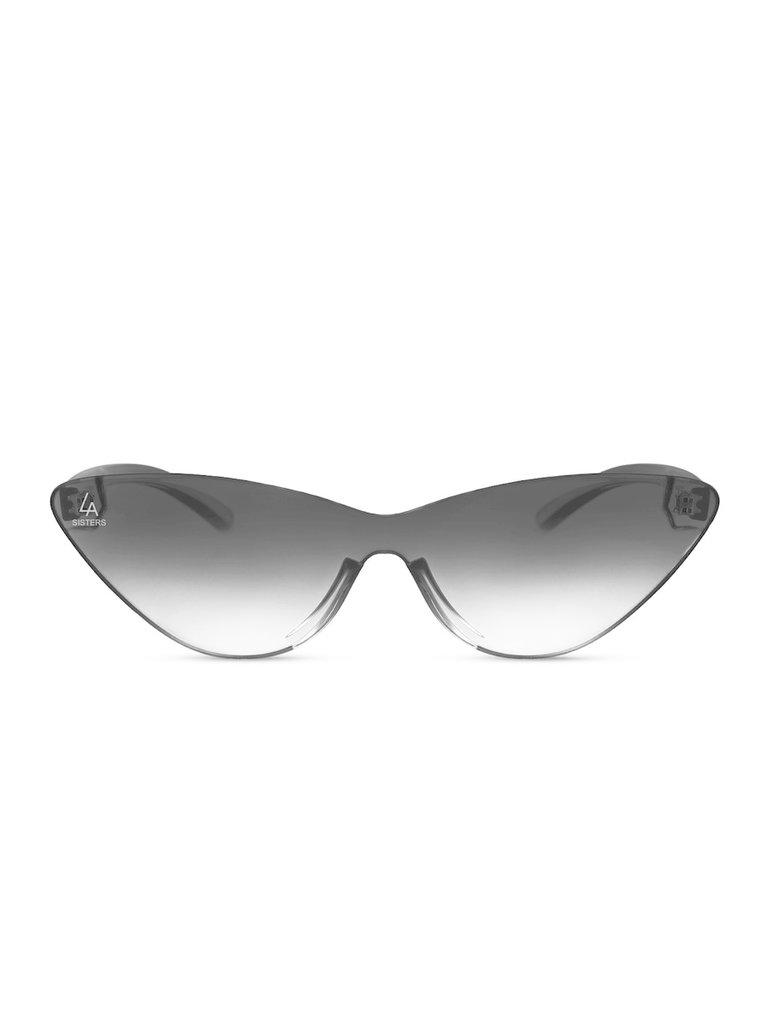 LA Sisters Cat-eye zonnebri lzwart