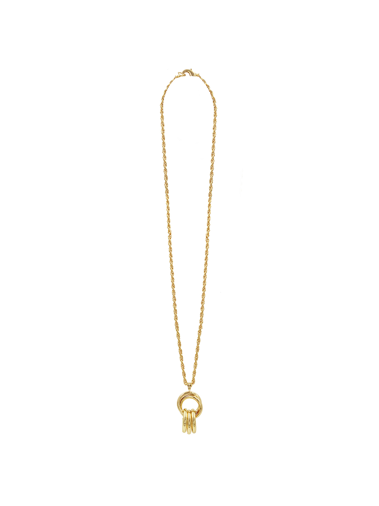 8 Other Reasons x Jill Jacobs link chain with gold charms
