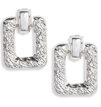 8 Other Reason 8 Other Reasons x Jill Jacobs Quinn hoops earrings silver