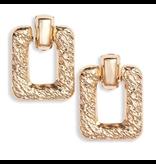 8 Other Reasons x Jill Jacobs Quinn hoops earrings gold
