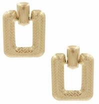 8 Other Reasons x Jill Jacobs Impress hoops earrings gold