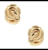 8 Other Reasons x Jill Jacobs Lou hoops earrings gold