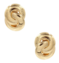 8 Other Reasons x Jill Jacobs Lou hoops earrings gold