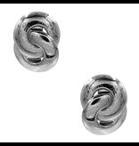 8 Other Reasons x Jill Jacobs Lou hoops earrings silver