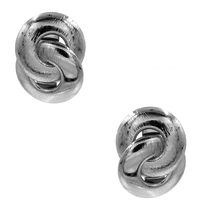 8 Other Reasons x Jill Jacobs Lou hoops earrings silver