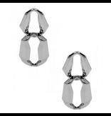 8 Other Reasons x Jill Jacobs Lara dusters earrings silver