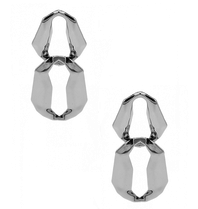 8 Other Reason 8 Other Reasons x Jill Jacobs Lara dusters earrings silver