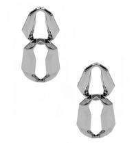 8 weitere Gründe x Jill Jacobs Lara Staubtücher Ohrringe Silber
