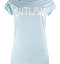 VLVT VLVT Outlaw T-Shirt hellblau