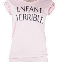 VLVT VLVT Enfant terrible T-Shirt rosa