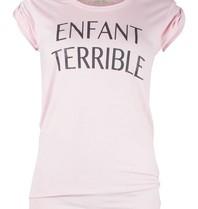 VLVT VLVT Enfant terrible t-shirt roze
