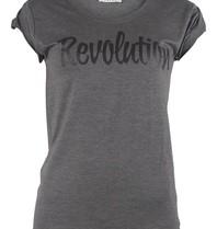 VLVT VLVT Revolution t-shirt grijs