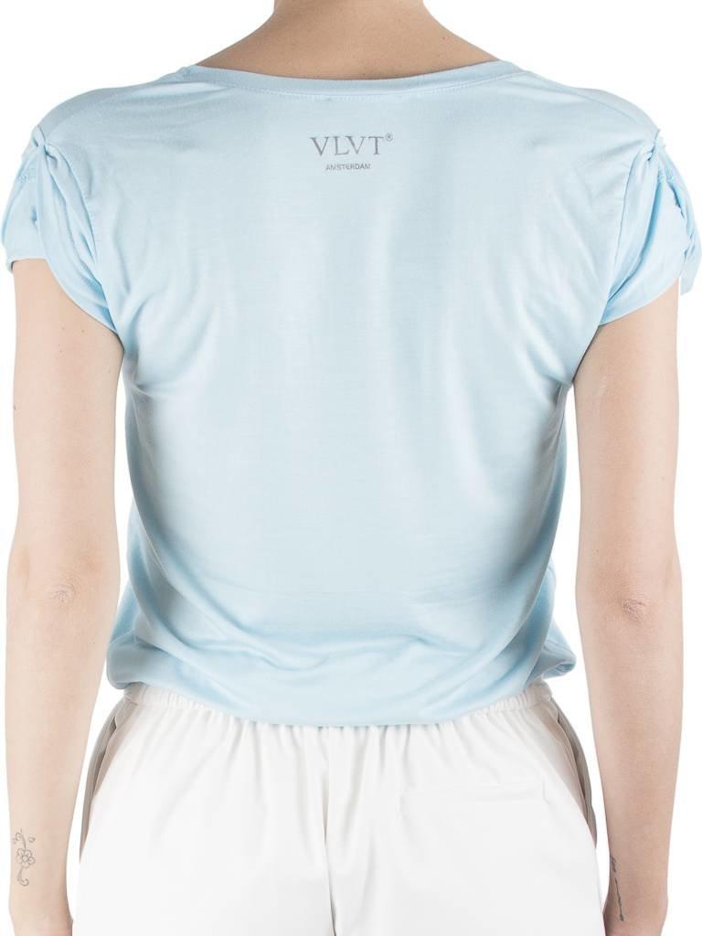 VLVT VLVT Outlaw t-shirt lichtblauw
