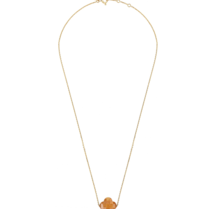 Morganne Bello Morganne Bello necklace with sunstone stone yellow gold