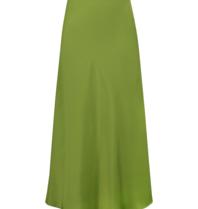 Acide Mila maxi skirt green